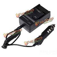 Аккумуляторная батарея зарядное устройство с Автомобильное зарядное устройство для xiaomi Йи экшн-камера США Plug
