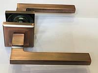 Ручка раздельная на квадратной розетке Mongoose H-893 MAC (матовая медь)