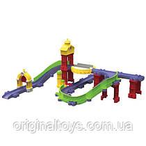 Железная дорога Chuggington Die-Cast Tomy Старый Город и паровозик Коко LC54223