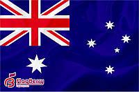 Флаг Австралии 80*120 см., искуственный шелк