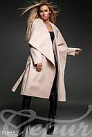 Свободное женское пальто Oversize.