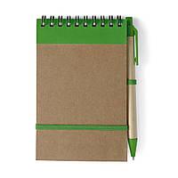 Блокнот формату А6  з ручкою