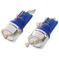 Лампы поворотные синие сигналы Т10 1w 12v (2-pack)