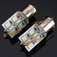1156 ba15s базы LED хвост обратного света 16 светодиодов SMD (5050)