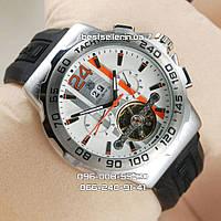 Часы TAG Heuer Calibre S (Механика) Класс: AAA. Silver/Silver, фото 1