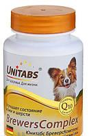 Витамины Юнитабс БреверсКомплекс, с пивными дрожжами для собак мелких пород, 100 табл.