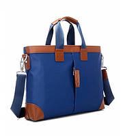 Портфель мужской синий , фото 1