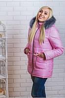 Куртка женская зима удлиненная
