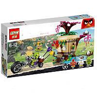 Конструктор Angry Birds Lepin 19003 (аналог LEGO 75823)  Кража яиц с Птичьего острова