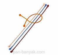 Silico Flex Пищевые шнуры  4 штуки длина 35 см силикон Granchio