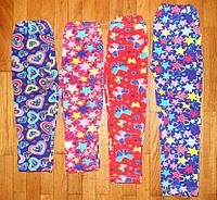 Яркие лосины для девочек Цветочек 98/104, фото 1