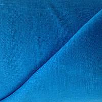 Голуба льняная ткань 100% лен. ш.150, пл.135