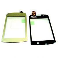 Тачскрин сенсор для Nokia C2-02, C2-03, C2-06, C2-07 C2-08 золотистый High Copy