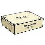 Ручка дверная Armadillo Corona LD23-1AB/SG-6 бронза/матовое золото, фото 3
