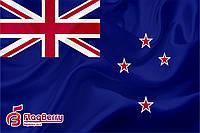 Флаг Новой Зеландии 80*120 см., искуственный шелк