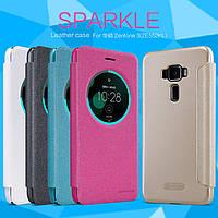 Кожаный чехол Nillkin Sparkle для Asus Zenfone 3(ZE552KL) (4 цвета)