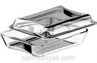 Exclusive Гусятница 2,5л 26,1х22,8 см h10,8 см жаропрочое стекло Simax