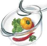 Кастрюля 1,5л d18,8 см h10 см жаропрочое стекло Simax