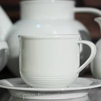 Catrin (без декору) Набор чайный на 6 персон 12 предметов 190мл фарфор Thun