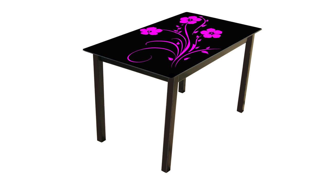 Стеклянный стол Монарх Флай