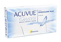 Двухнедельные контактные Acuvue Oasys With Hydraclear plus (6 шт.)