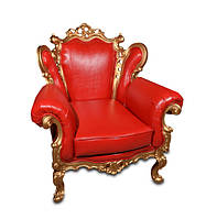 Кресло с резьбой Белла (90 см)