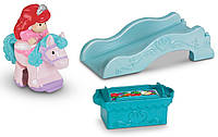 Fisher-Price Кли-клап Принцесса Ариель Little People Disney Klip Klop Ariel