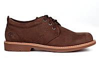 Туфли мужские Timberland Hartwick Plain Toe Oxford, тимберленды коричневые