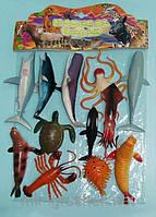 Морские животные резиновые