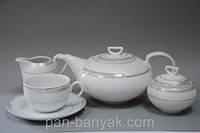 Ivonne 328 Чайный сервиз на 6 персон 15 предметов фарфор Cmielow