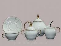 Bernadotte (Золоте сонце) Чайный сервиз на 6 персон 17 предметов 205мл фарфор Thun