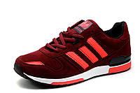 Кроссовки Adidas, женские/подросток, бордовые, фото 1