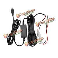 11.От 5 до 35V Mini-USB автомобиля 24-часовой мониторинг парковки тахограф Видеорегистратор кабель посвященный понижающий