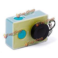 Ультратонкая спортивная камера обстреливает защиту с крышкой для объектива для xiaoyi камеры