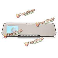 Автомобильное зеркало заднего вида видеорегистратор HD 1280х720 видео камера