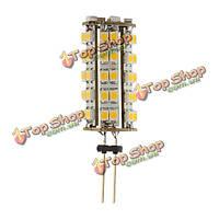 Теплый белый G4 68 1210 SMD автомобилей LED свет освещение Лампа DC 12V новый