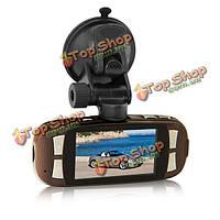 2.7-дюймов ЖК-дисплей полный высокой четкости 1080p автомобиль DVR рекордер камеры t650