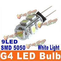 Автомобиль g4 9 smd LED 5050 smd белоснежный кабинет rv лампочка лодки