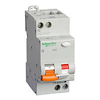 Диф. Автоматический выключатель АД63 2П 16A З 30МA Schneider Electric