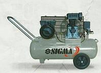 Компрессор двухцилиндровый ременной SIGMA 7044121
