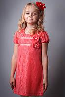 """Платье детское кружевное для девочек """" Принцесса"""" нарядное"""