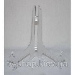 Подставка для  тарелок прозрачная 7,5 см