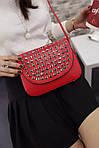 Красная сумочка с камушками, фото 3