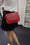 Красная сумочка с камушками, фото 4