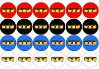 Ниндзяго Лего 88 Вафельная картинка