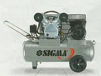 Компрессор двухцилиндровый ременной SIGMA 7044151