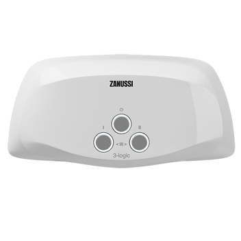 Проточный водонагреватель Zanussi 3-logic TS (5,5 kW) - кран+душ