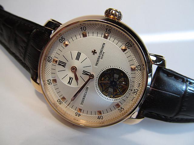 Мужские часы Vacheron Constantin tourbillon автоподзавод