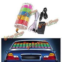 Стикеры автомобиля звук музыки активированный сенсор LED модификация свечение света эквалайзер
