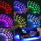 7 цветов LED в машине светятся днища Система дистанционного неоновый свет комплект, фото 9